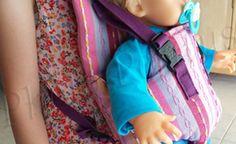 Porte bébé pour poupée - Partout A Tiss - Blog de couture & Do It Yourself