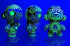 Mayan Munny GID by Turuel