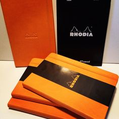 Awesome goodies from #Rhodia for the raffle at the event! #Be_Chicago #BehanceReviews