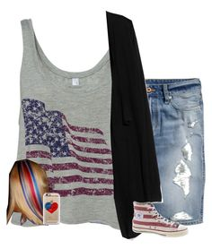 """Happy 4th"" by haileydove ❤ liked on Polyvore"