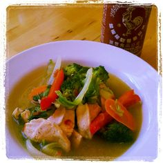 ginger lime chicken soup - perfect summer soup