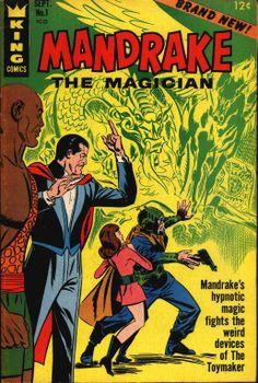 Lee Falk's Mandrake The Magician.
