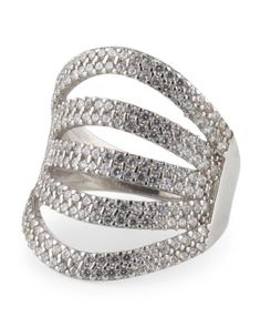 Made In Turkey Sterling Silver Open Band Ring