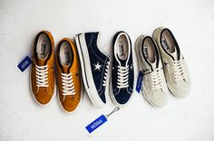#Converse Japan One Star Timeline Pack - 40th anniversary #sneakers