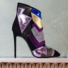 Giuseppe Zanotti Design Mixed Media Color
