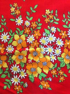 A personal favorite from my Etsy shop https://www.etsy.com/se-en/listing/252477510/swedish-vintage-mod-fabric-from-the-60s