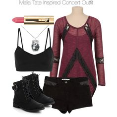 """""""Teen Wolf - Malia Tate Inspired Concert Outfit"""" by staystronng on Polyvore"""