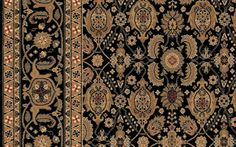 Niccolo Carpet Stairs, Patterned Carpet, Black Pattern, Modern Rugs, Oriental Rug, Bohemian Rug, Area Rugs, Traditional, Antiques