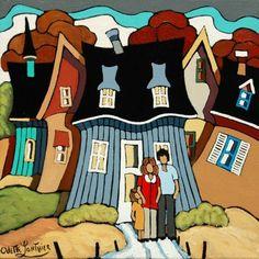 Odette Lanthier-Nuestra casa,