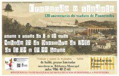 Cruzando o Viaduto: 130 aniversario do segundo viaduto de Redondela (1884-2014) http://bibliotecasredondela.blogspot.com.es/2014/11/cruzando-o-viaduto-imonos-de-viaxe-en.html