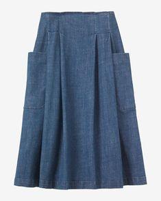 Women's Denim Skirt