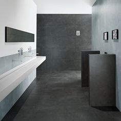 PORTLAND LIGHT/LIGHT FLOOR - REVIGRES This tile comes from Portugal, which is one of the best producers of ceramic tiles in the world. Very modern tile in grey color refreshes every room,fits different areas.This tile very resistant and luxurious when touched. SERIE : Antracite - Cinza  - Marfim. SIZES : 60*120/15*120/10*120/60*60/30*60 , Natural & Rectified.And as a Deco tile Enigma Antracite 30*30/Cinza 30*30/Marfim 30*30/Shadow Antracite 30*30.in this picture we present Portland Antracite