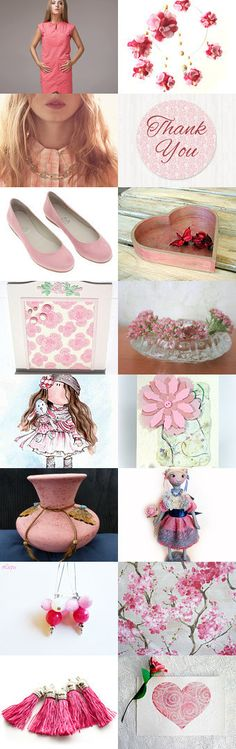 Love Pink by Laura P. on Etsy--Pinned with TreasuryPin.com
