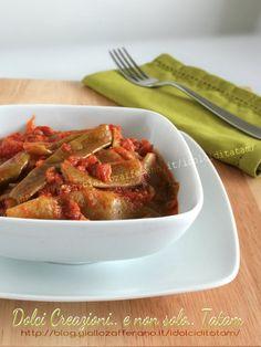 Taccole in umido   ricetta facile contorno vegetariano