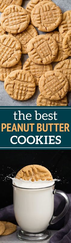 Classic Peanut Butter Cookies - Cooking Classy