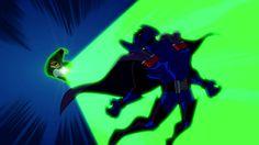 Green Lantern vs Doctor Polaris