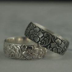 Sterling Silver Wedding Rings, Silver Wedding Bands, Silver Bands, 925 Silver, Cute Jewelry, Silver Jewelry, Hawaiian Jewelry, Beautiful Rings, Cuff Bracelets
