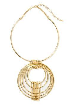 Circle Around Necklace