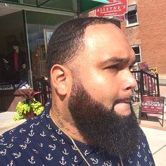Hebrew beard; Zaqan; Philly Beard; black and bearded