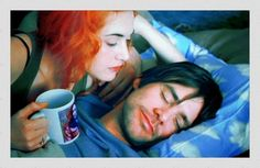 Eternal Sunshine of the Spotless Mind: Jim Carrey and Kate Winslet