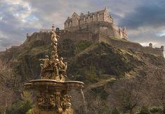 Le château d'Édimbourg, Écosse -
