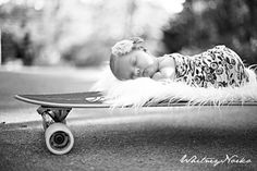 Love this - baby on a skateboard ~Photo by Whitney Norko