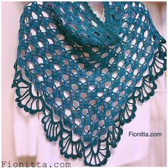 March Shawl By Fionitta - Free Crochet Diagram - (fionitta)