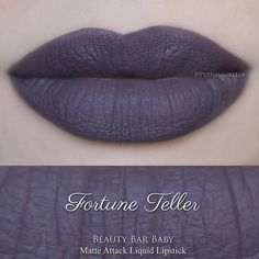 Fortune Teller Liquid Lipstick Matte Attack Liquid Lipstick ($14) ❤ liked on Polyvore featuring beauty products, makeup, lip makeup, lipstick and lips