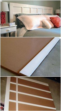 78 Superb DIY Headboard Ideas for Your Beautiful Room - Page 5 of 8 - DIY & Crafts