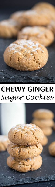and Chewy Ginger Sugar Cookies. The perfect combination of a sugar ...
