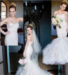 Hilary Duffs Wedding Dress