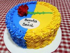 41 Cute and Fun Gender Reveal Cake Ideas Beauty and the Beast Gender Reveal Cake Disney Gender Reveal, Gender Reveal Food, Simple Gender Reveal, Gender Reveal Party Games, Gender Reveal Shirts, Gender Party, Baby Shower Gender Reveal, Reveal Parties, Beauty And The Beast Cake Birthdays