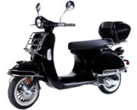 From Family Powersport:Move over, Vespa! Up to MPG Ultimate Gas Savor! Fully Equipped Scooter with under storage box. Gas Moped, Moped Scooter, Gas Scooters For Sale, Cargo Rack, 50s Vintage, Vintage Style, Performance Exhaust, Seat Storage