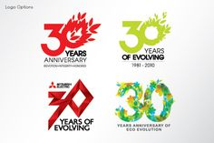 Anniversary Logos. Do not remember where on the net i found them, but I love them!