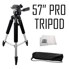 Introducing Professional 57inch Tripod 3way Panhead Tilt Motion with Built In Bubble Leveling for anasonic HCX920 HCX920K HCV720 HCV720K HCV520 HCV520K HCV210K HCV110 HCV110K HCX900 HCX800 HCV700  HCV500 HCV100 HCV10 HCV750K HCV550K HCV250K HCV130K HCW850K HD Camcorders. Great product and follow us for more updates!