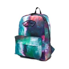 <p>Take on this semester with out of this world style and the new Realm Galaxy Nebula Backpack! The Realm Galaxy Nebula Backpack features a nebula printed exterior with Vans logo patch, and plenty of compartment space for all of your essentials.</p> <p><u>Features include</u>:</p> <ul> <li> Polyester</li> <li> Zipper closure</li> <li> Front utility pocket with zipper closure</li> <l...