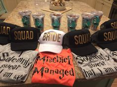 There are plenty of fun bachelorette party ideas that you can implement into your bash. Let the bride get wild one last time before her big day. Bachelorette Party Planning, Bachelorette Weekend, Bachlorette Party, Wedding Weekend, Dream Wedding, Theme Harry Potter, Harry Potter Themed Wedding, Harry Wedding, Bridal Party Shirts