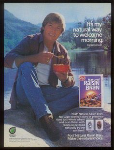 John Denver: Post Raisin Bran advertisement (1986)