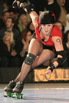 Derby Girl.  Leaning into that crossover.