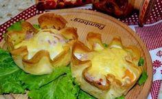 Завтрак в корзинках из блинчиков / Женское счастье!