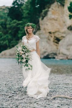 Caroline Campion Leather & Lace Bridal Collection