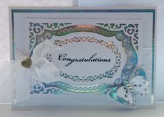 cards made with Spellbinders majestic labels Twenty- Five Die - Google Search
