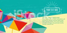 stock-illustration-80747405-abstract-summer-beach-illustration-banner-with-vintage-sun-badge.jpg (556×276)