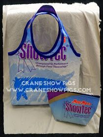 Crane Show Pigs: Recycled Feed Bags - Crane Show Pigs Style!
