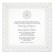 Traditional Irish Wedding Invitations Celtic Knot