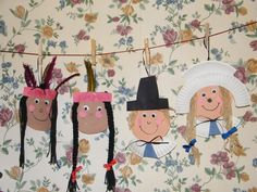 paper plate pilgrims and indians