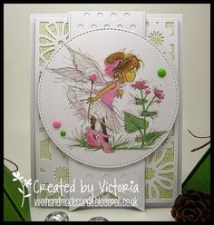 Vixx Handmade Cards: LILI OF THE VALLEY ~ ON TIPTOE