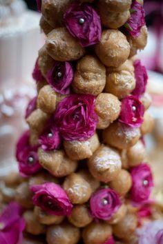 bridal dessert buffet closeup