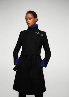Shop Now - >  https://api.shopstyle.com/action/apiVisitRetailer?id=669956802&pid=uid6996-25233114-59 MANGO Belted wool coat  ...