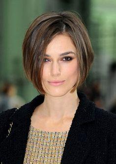Keira Knightly Short Hair Photos.  Love this cut!!